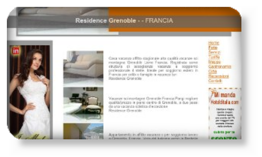 An hotel manager happy with RasadaCrea SEO website services boosting customer basis in Italy